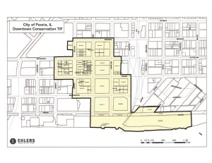 TIF Map - Downtown-Conservation